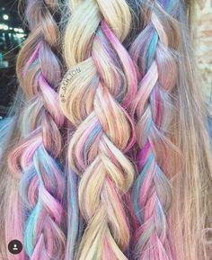 Unicorn hair by Ashley Eryn