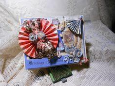 Alice in Wonderland Blank Card by BarbarasNook on Etsy, $4.00
