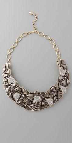 Kenneth Jay Lane Geo Collar Necklace