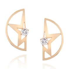 Rhinestone Star Large Stud Earrings ❤ liked on Polyvore featuring jewelry, earrings, rhinestone stud earrings, star jewelry, star stud earrings, rhinestone jewelry and golden stud earrings