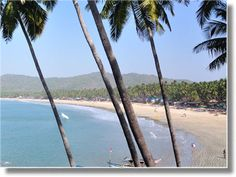 India Tourism: where to visit. Palolem Beach, Goa