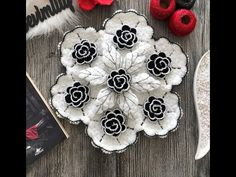 Crochet Jewelry Patterns, Crochet Flower Patterns, Doily Patterns, Baby Knitting Patterns, Crochet Motif, Crochet Doilies, Crochet Flowers, Crochet Table Runner, Crochet Tablecloth