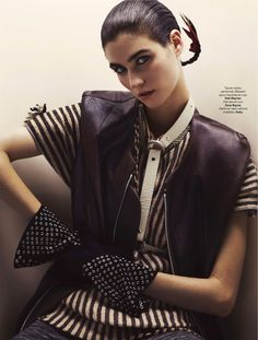 visual optimism; fashion editorials, shows, campaigns & more!: manon leloup by toby knott for stylist #074 18th december 2014