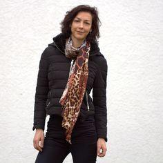 #jacket by #pimkie, #scarf #h&m