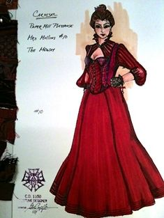 Costume design by Gregory A. Costume Design Sketch, Work Inspiration, Designs To Draw, Carousel, Theatre, Paper Mill, Drawing Style, Costumes, Fashion Illustrations