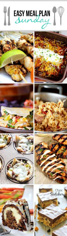 Easy Meal Plan Sunday 5   http://www.carlsbadcravings.com/easy-meal-plan-sunday-5-recipes/