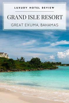 Grand Isle Resort & Spa in the Bahamas, Exuma Exuma Bahamas Hotels, Bahamas Honeymoon, Beach Honeymoon Destinations, Bahamas Vacation, Vacation Trips, Vacation Spots, Vacation Ideas, Travel Destinations, Italy Vacation
