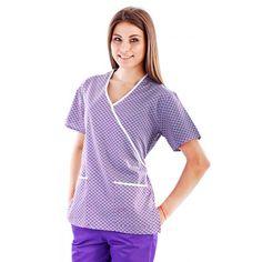 Bluza unisex imprimata TG-001 - bluza comoda si lejera cu croiala adaptata activitatii medicale zilnice. Material subtire de vara, placut la atingere, nu se sifoneaza, isi pastreaza tinuta iar culorile sunt rezistente la spalare. Croiala este dreapta, cu maneca scurta, 3 buzunare aplicate frontal. Compozitie material: 65% poliester, 35% bumbac. Variante: maneca scurta.   http://incaltamintemedicala.ro/uniforme-medicale/tg-001-bluza-unisex-imprimata