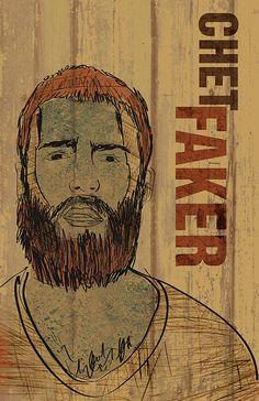 Chet Faker Poster - $20