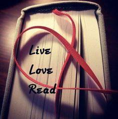 Live, Love, Read.