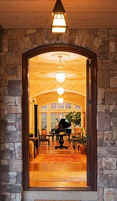 back door