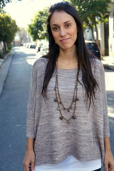 Joji Sweater Knitting Pattern