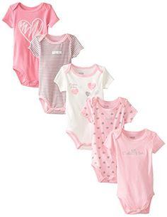 Calvin Klein Baby-Girls Newborn 5 Pack Bodysuits Heart Print Group, Multi, 0-3 Months Calvin Klein http://www.amazon.com/dp/B00K14AV9A/ref=cm_sw_r_pi_dp_lMPeub13CPGS8