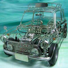 Post with 763 views. The Mini-malist Mini Cooper S, Mini Cooper Classic, Cooper Car, Classic Mini, Classic Cars, My Dream Car, Dream Cars, Mini Morris, Austin Cars