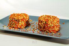 Raw vegan cheese with carrots and herbs / Branza raw vegana cu morcovi dulci si condimente Vegan Cheese, Pop, Raw Vegan, Carrots, Herbs, Health, Romanian Recipes, Popular, Pop Music