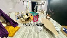 Escolanova, a new education available to everyone Birthday Cake, Play Spaces, Drawing For Kids, Creativity, Birthday Cakes, Cake Birthday