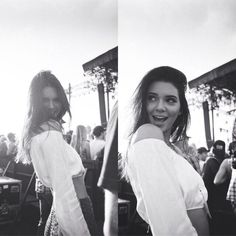 Kendall Jenner at Coachella by Moises Arias