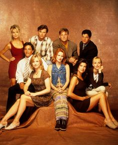 Melrose place (I watched this off and on as a kid, I remember having a crush on billy and jake)
