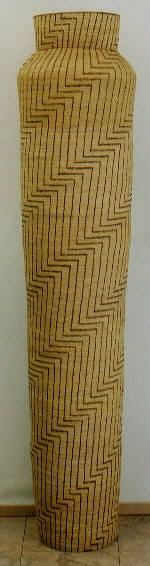 Joyce Shannon tall woven basket