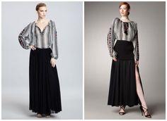 La Blouse Roumaine. A subtle and elegant bohemian look.   The #RomanianBlouse inspiration by Jean Paul Gaultier.