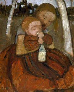 untitled picture by Paula Modersohn-Becker (juancarlosboverimuseos)
