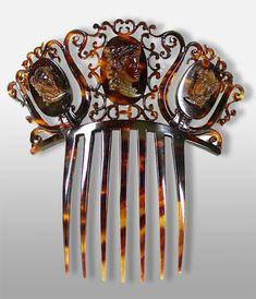 Accessoires de coiffure, peigne à cheveux, épingles, barrettes, tiares, couronnes, harkamm, peineta, pettini   Creative-museum