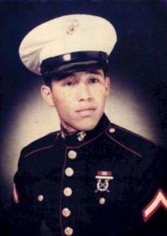 Virtual Vietnam Veterans Wall of Faces   PAUL G ALANIZ JR   MARINE CORPS