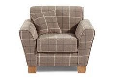 The Lois plain chair combines sumptuous fabrics design and oak wood feet. Buy online now at ScS.