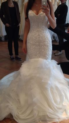 I've never seen a dress that I've wanted so bad as this one.. it's everything I want when I get married