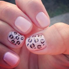 I'm totally loving my nails!!! My sister found the design on Pinterest and my nail lady did an amazing job duplicating it!!!