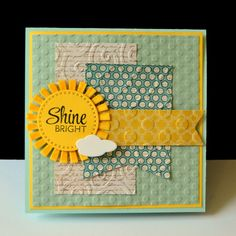 Handmade card by DJ Rants using the Rise Above stamp set from Verve. #vervestamps