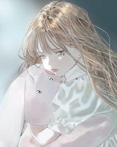 Sad Anime, Anime Chibi, Kawaii Anime, Anime Art, Girls Time, Shy Girls, Book Aesthetic, Manga Girl, Anime Girls
