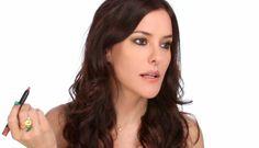 Kristen Stewart inspired make-up - Smudgy Black Pencil - by Lisa Elridge