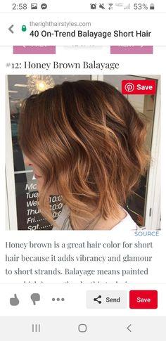 Honey Balayage, Bayalage, Brown Balayage, Balayage Hair, Hair Tuck, Hair A, Brown Lob, Poofy Hair, Honey Brown