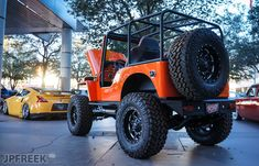 While SEMA was filled with loud and over the top Jeeps, there was a clean Willys that stood out and caught our attention. Old Jeep, Jeep Cj, Jeep Wrangler, Jeep Willys, Badass Jeep, 4x4 Off Road, Jeepers Creepers, Roll Cage, Jeep Life
