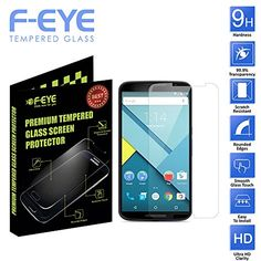 F-EYE® [Motorola Nexus 6 Tempered Glass], Ultra Clear Screen Protectors for , 2.5D Round Edge - 0.33mm Thickness 9H Hardness, Made From Real Tempered Glass, Shatterproof, Anti-Scratch Bubble-free, Reduce Fingerprint High Definition Clear Tempered Glass, Oleophobic Coating, Safety Packing And Easy To Install In Your Smart Phones (Motorola Nexus 6) F-EYE http://www.amazon.in/dp/B019ILNC24/ref=cm_sw_r_pi_dp_Hv8Hwb1KT97EE