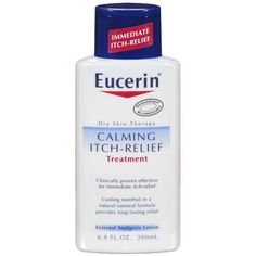 Eucerin Calming Itch-Relief...this stuff is great for dry itchy skin!