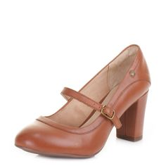 43b5eff97242 Ladies hush puppies sisany mary jane tan leather court shoes uk size