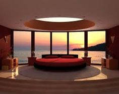 With Great Nature bedroom interior design