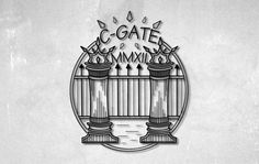 Logo idea gate old school