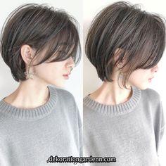 hair k tosaki Short Hair Back, Asian Short Hair, Girl Short Hair, Short Hair Cuts, Shot Hair Styles, Curly Hair Styles, Hair Inspo, Hair Inspiration, Dream Hair