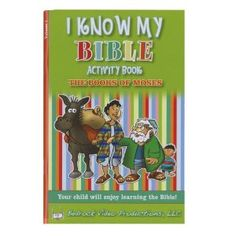 I Know My Bible Activity Book Vol 1