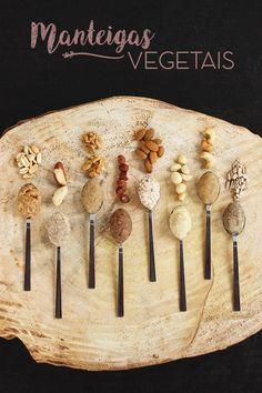 Como fazer manteigas vegetais | herbi-voraz.com #vegano #manteigavegetal #nutbutter #vegan #saudavel #healthy #cleaneating #manteigavegana