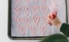 Kids Last Minute Valentine Cupcake Hearts - 1 Step Instructions by Sarah Keiffer