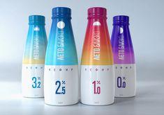 Разработка дизайна упаковки бренда молочной продукции «Лето близко»