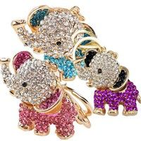 UK Deals & Sales from Best Shopping Sites Dumbo The Elephant, Happy Elephant, Elephant Love, Elephant Keychain, Best Shopping Sites, Barbie, Golden Color, Glass Jewelry, Key Rings