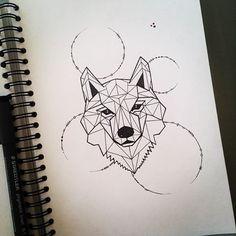 40 Amazing Wolf Tattoo Designs And Ideas Geometric Tattoos