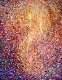 """Genesis"" by Eduardo Rodriguez Calzado   Oil Painting / 2012"