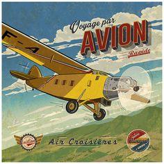 Voyage par avion Bruno Pozzo