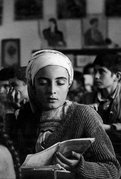 "The village school. ""A Greek Portfolio"" © Costa Manos/Magnum Photos Old Pictures, Old Photos, Vintage Photos, Greek Culture, Photographer Portfolio, Greek Art, Famous Photographers, Magnum Photos, Susan Sontag"